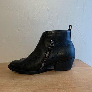 Nine West Women's Senko Black Ankle Boots Size 6